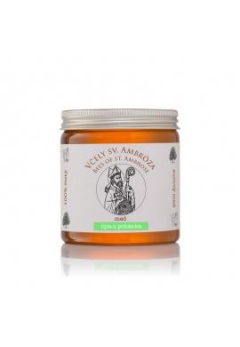 lipový pohánkový med