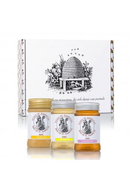 3-piece honey gift set