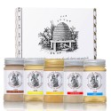 5-piece honey gift set