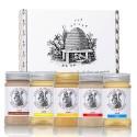 5-piece honey gift set